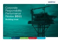 CR Performance Review - Centrica