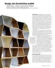 Design, das Geschichten erzählt - Horizont
