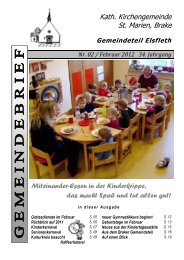 02 - Kath. Kirchengemeinde St. Marien in Brake
