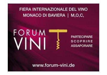 ALBRECHT - Forum Vini
