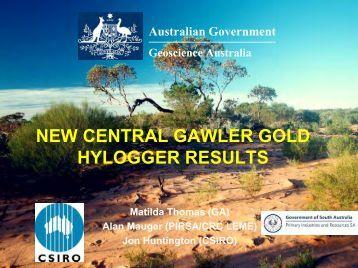 Tunkillia Hylogger Diamond Holes #1 - Geoscience Australia