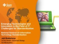 Emerging Technologies and Innovation in the Field of IT ... - BIS