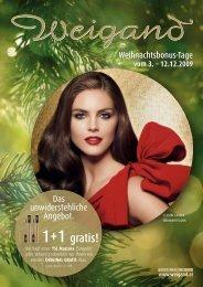 1+1 gratis! - Parfümerie Weigand