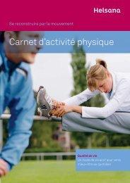 Carnet d'activité physique (Inhalt) - Ryffel Running