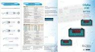alpha Series 200 Controller/Transmitters - Eutech