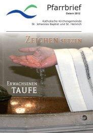 Pfarrbrief Ostern 2012 - kplw.de