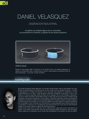 DANIEL VELASQUEZ - Revista a+d