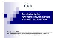 Der elektronische Psychotherapeutenausweis Grundlagen und ...