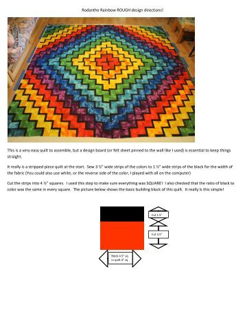 Kaleidoscope Quilt Quilting Board