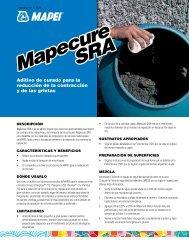 Mapecure SRA (PDF) - Mapei
