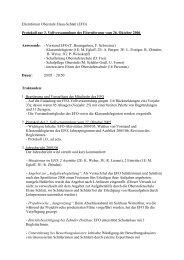 Elternforum Oberstufe Elsau-Schlatt (EFO) Protokoll zur 3 ...