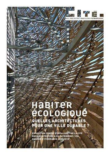 quelles architectures pour une ville durable - Cité de l'architecture ...