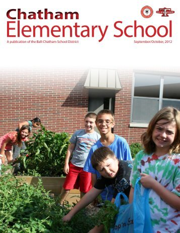 September/October 2012 - Chatham Elementary School