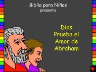 God Tests Abrahams Love Spanish.pdf - Bible for Children