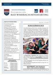 Bad wimsbach-neydharting nette leute kennenlernen
