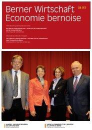 Magazin Berner Wirtschaft 04/2013 - Handels- und Industrieverein ...