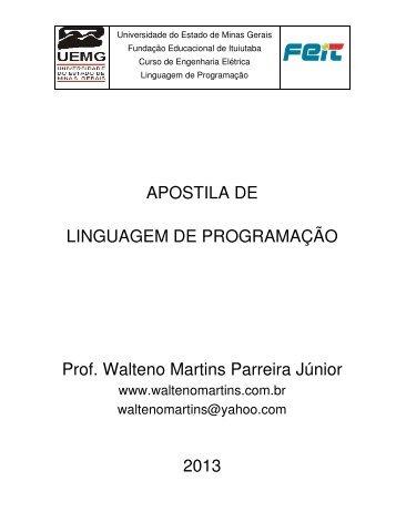 Apostila - Waltenomartins.com.br