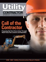 View Full September PDF Issue - Utility Contractor Magazine