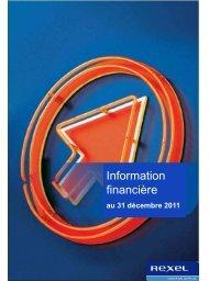 rapport financier - Rexel