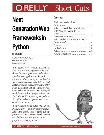Next-Generation Web Frameworks in Python - These are not the ...