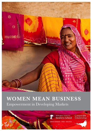 Women mean Business - Corporate Citizenship
