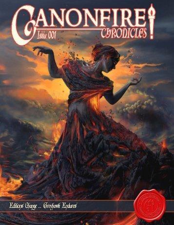 Canonfire! Chronicles Issue 1 - Le Monde de Greyhawk