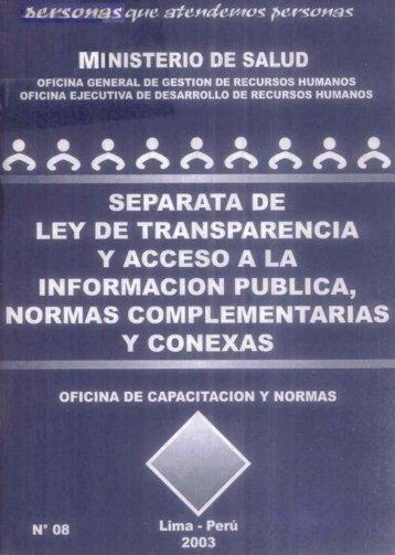 Untitled - BVS Minsa - Ministerio de Salud