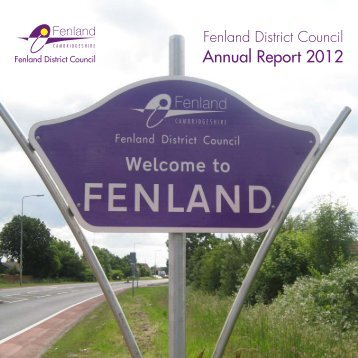 Draft Annual Report 2012 - Fenland District Council