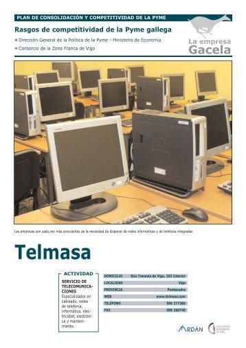 TELMASA, S.L.: Empresa Gacela - Ardan