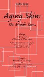 Aging Skin - Continuing Medical Education - University of Minnesota
