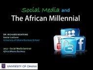 Social Media and - VIVA University