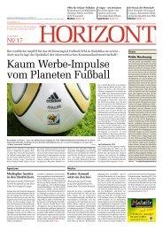 Kurier: Konrad setzt ein Zeichen - Horizont