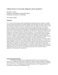 Climate Science: Is it currently designed to answer questions - arXiv