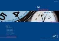 Produktfolder neu - Schebesta und Holzinger