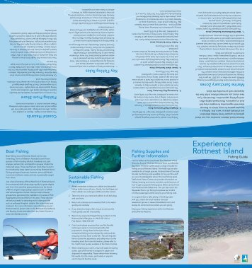 Fishing Guide - Rottnest Island Authority