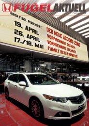 13,00 EURO - Honda Fugel