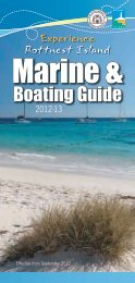 Rottnest Island Marine & Boating Guide 2012-13
