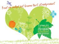 KERKSTRAAT - Slow Food Nederland