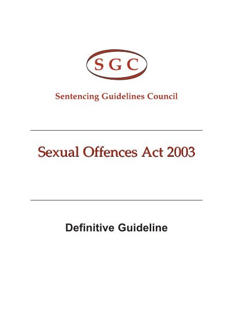 Remarkable sexual offences act 2003 sentencing amusing