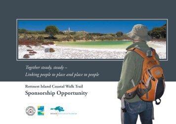 (Wadjemup) Walk Trail Sponsorship Opportunity - Rottnest Island