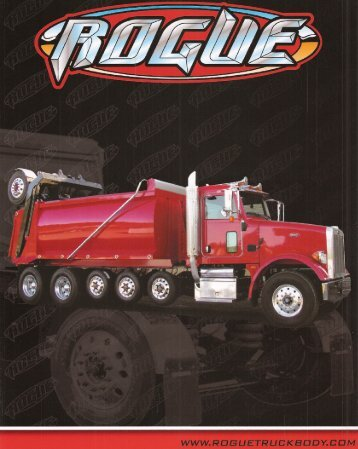 (4+ axle) - brochure - Rogue Truck Body