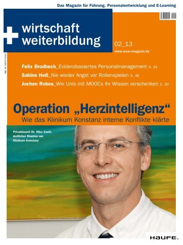 "Operation ""Herzintelligenz"" - Haufe.de"