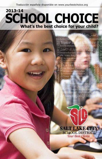 Download the 2013-14 School Choice Catalog - Salt Lake City ...