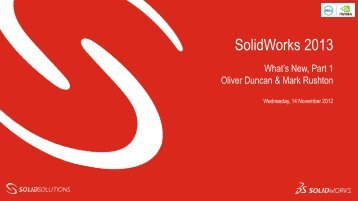 What's New - Solid Solutions