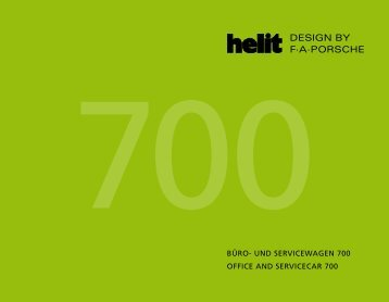 BÜRO- UND SERVICEWAGEN 700 OFFICE AND ... - Helit