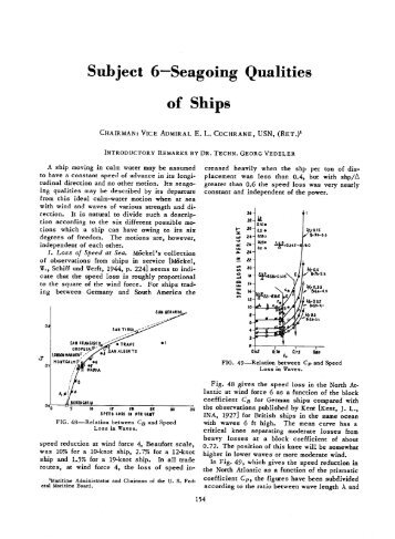 Seagoing Qualities of Ship - ITTC