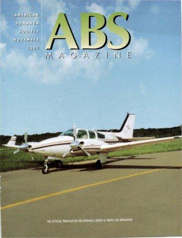 November 2002 - American Bonanza Society