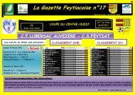 La Gazette Feytiacoise n°17