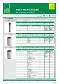 Neue MANN-FILTER für Baumaschinen 02/2008 - Mann & Hummel - Page 2