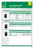 Neue MANN-FILTER für Baumaschinen 02/2008 - Mann & Hummel - Page 6